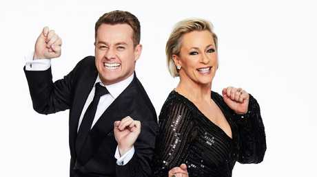 Grant Denyer and Amanda Keller will host Channel 10's Dancing With The Stars.