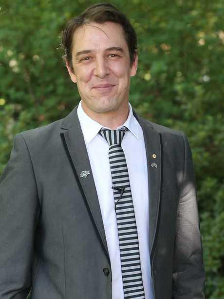 As is Aussie actor Samuel Johnson. Picture: Kym Smith
