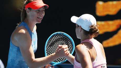 Ash Barty has come a long way to beat the likes of Maria Sharapova. (Michael Klein)