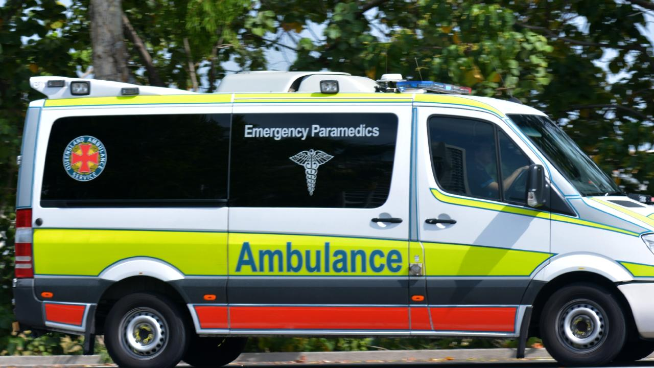 An Ingham man has died after he was crushed in a tragic backyard accident.