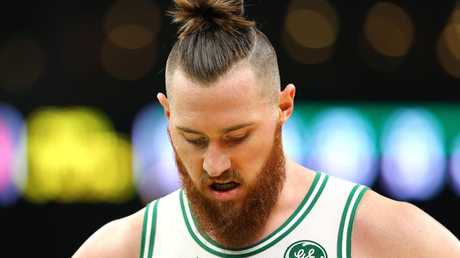 Aron Baynes has stood up to the Miami Heat in epic fashion. Maddie Meyer/Getty Images/
