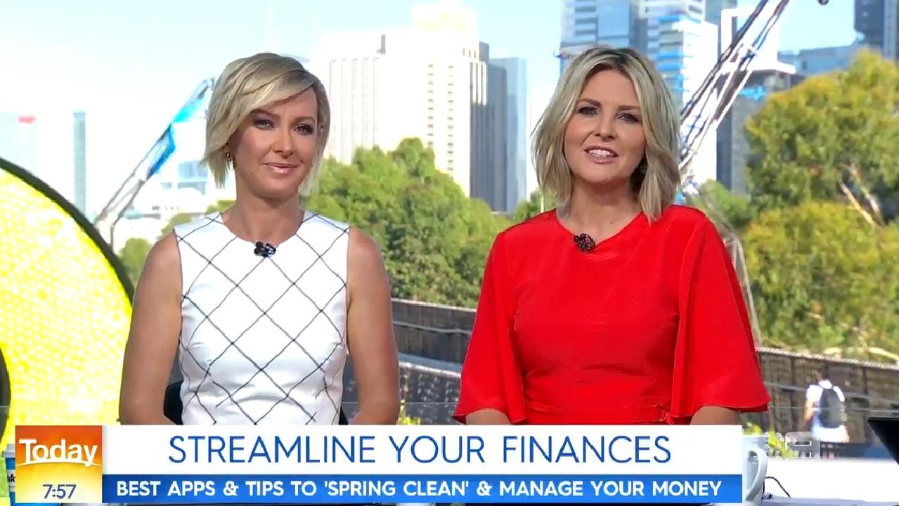 New hosts: Deborah Knight and Georgie Gardner on Today.