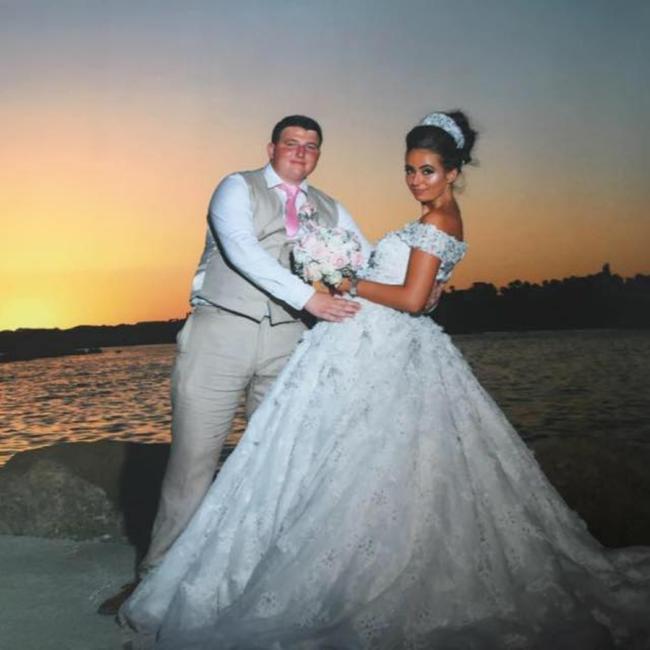 Joe Doran, formally known as John Johnson, with his wife Miley.