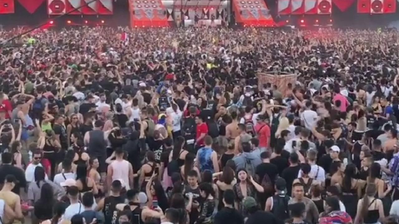 Crowds at Defqon 1 festival