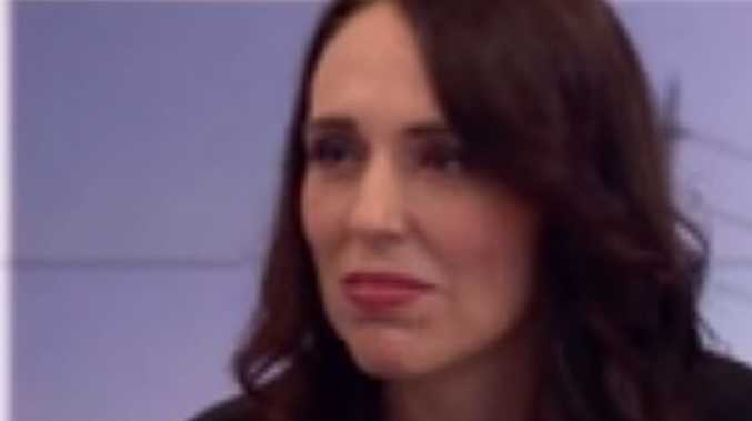 Jacinda Ardern seemed surprised by a particular BBC interviewer's question.