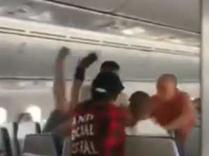 Arrests after violent brawl on Qld flight