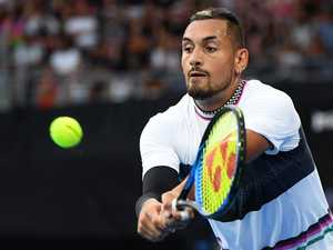 Kyrgios backhands Aussie Olympic legend