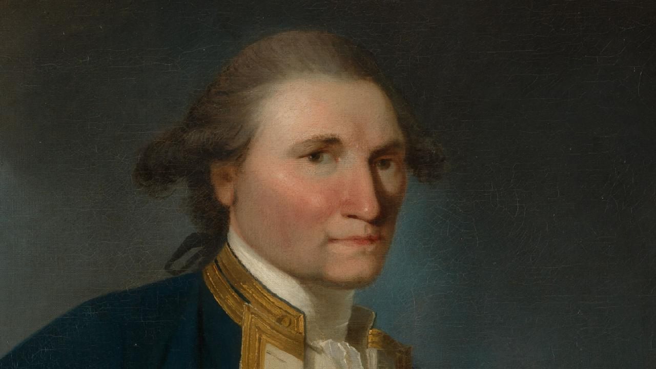 Captain James Cook, who never circumnavigated Australia and his landing at Botany Bay was not on January 26.