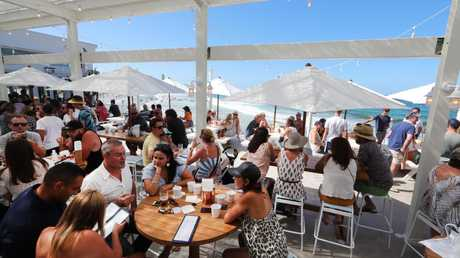 Burleigh Pavilion has had huge crowds since its first week of trading. Photo: Glenn Hampson