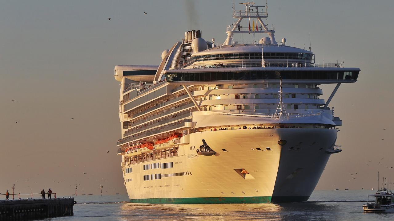 A person has gone missing on the Golden Princess between Australia and New Zealand. Picture: Hamish Blair