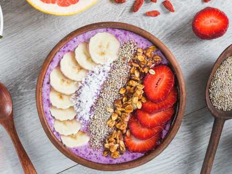 An acai smoothie bowl is seen as a superfood and has proved popular on Instagram, but it's full of sugar.