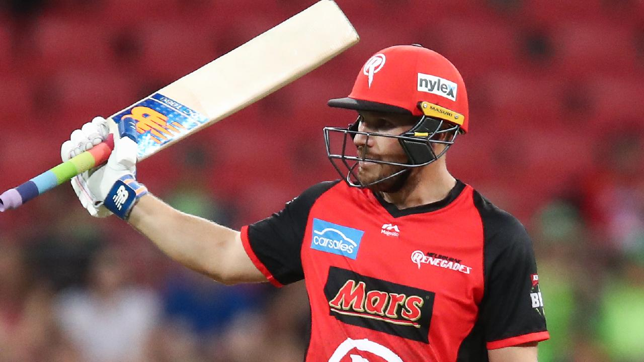 Aaron Finch made a excellent return to form.