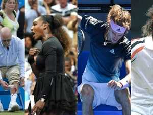 Blood and tears: Most memorable tennis tantrums