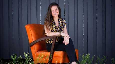 Amy Lou Wilson of Yoga Seeds. Picture: AAP/Renae Droop