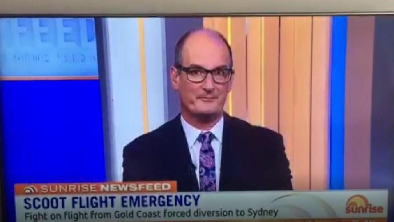David 'Kochie' Koch's reaction after Gretel Killeen's on-air F-bomb.