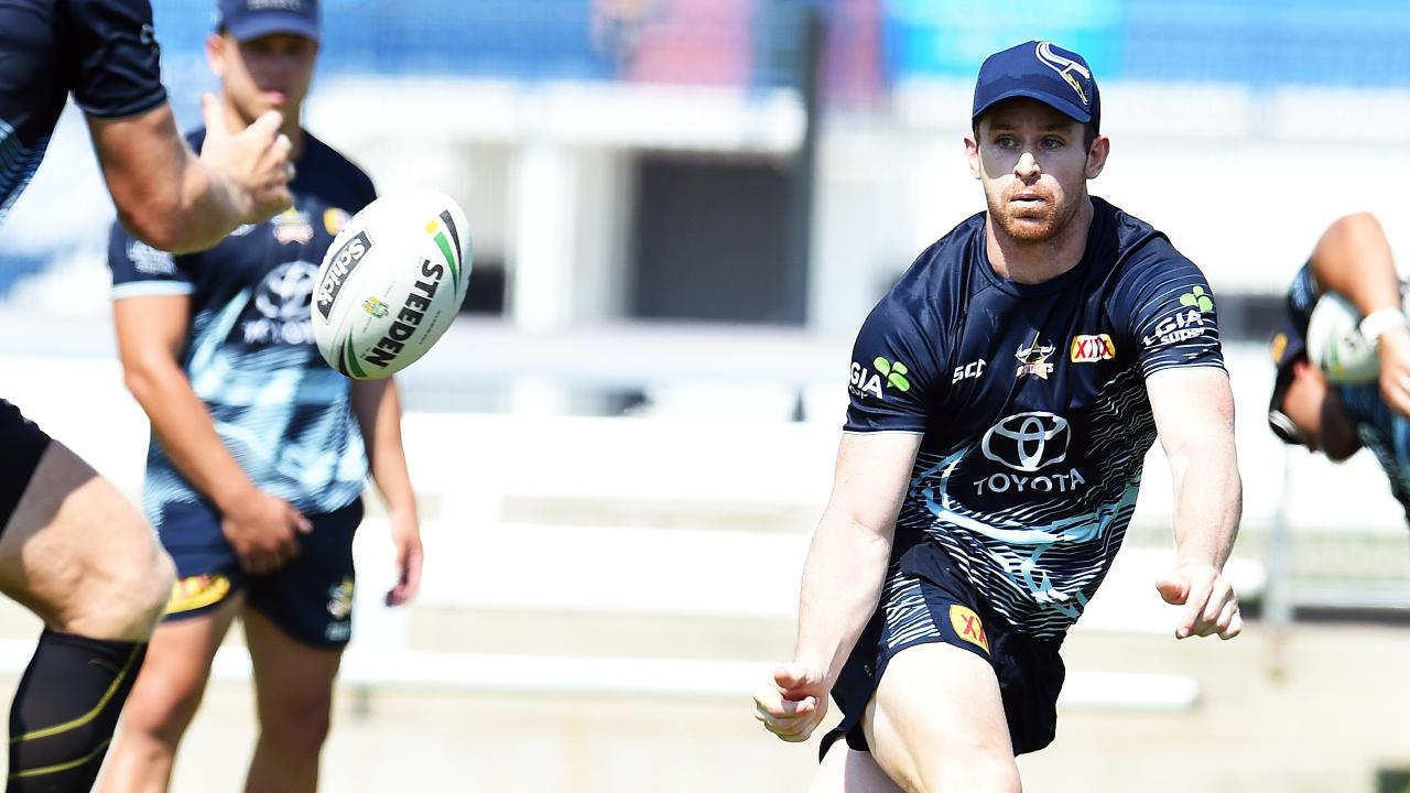 Michael Morgan will be the Cowboys main man after Johnathan Thurston's retirement. Picture: Zak Simmonds