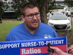 Nurse Protest