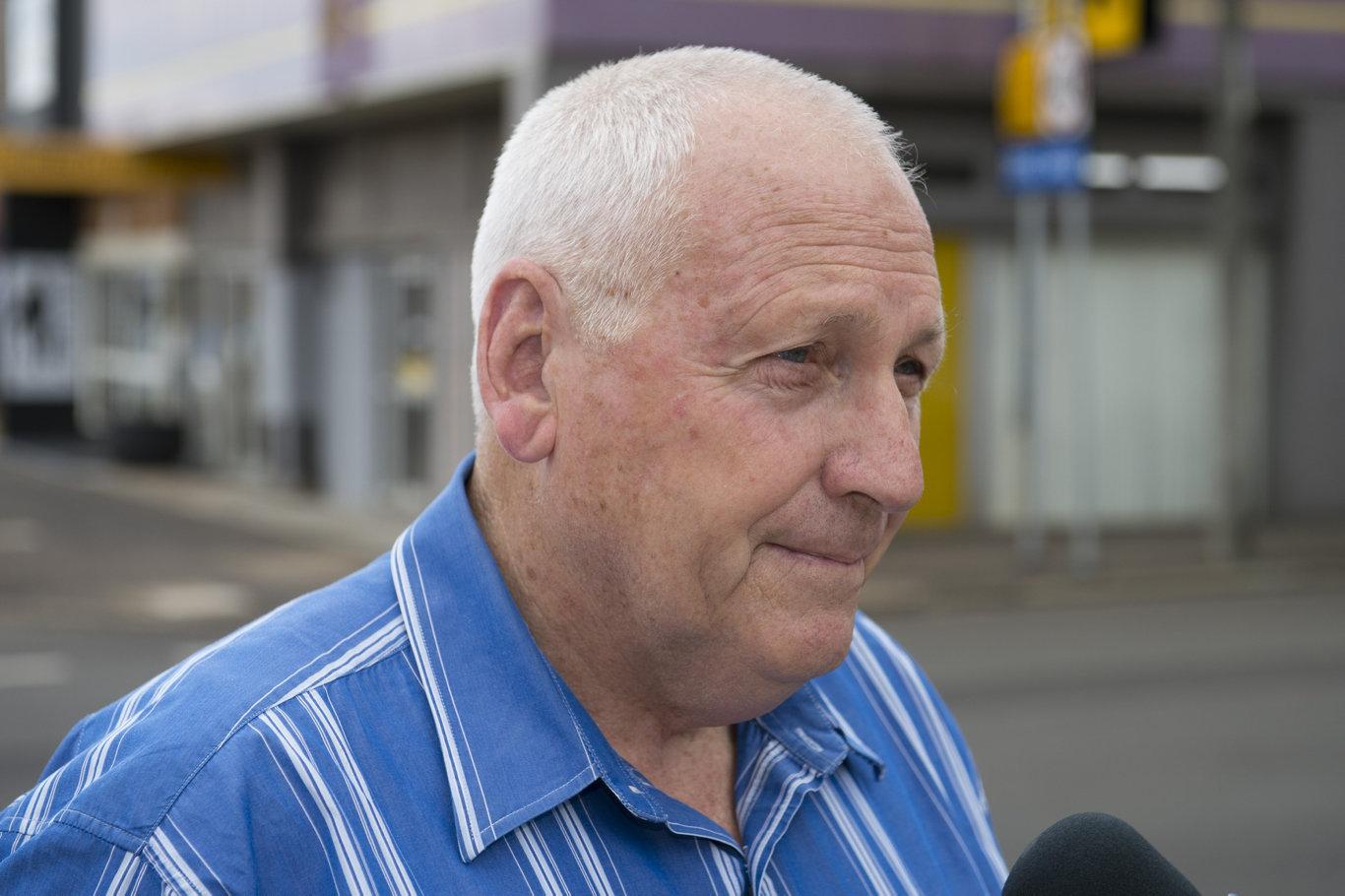 Former Toowoomba councillor John Gouldson.