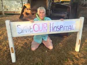 Mullum Hospital protest