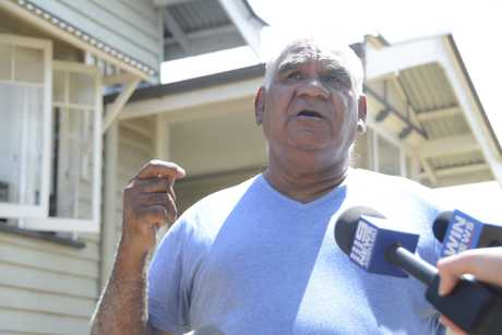FURIOUS: Tenant of Downs Housing Company in Toowoomba James Boney is demanding an investigation from the State Government into how the homes of more than 30 indigenous families were put up for auction without their knowledge.