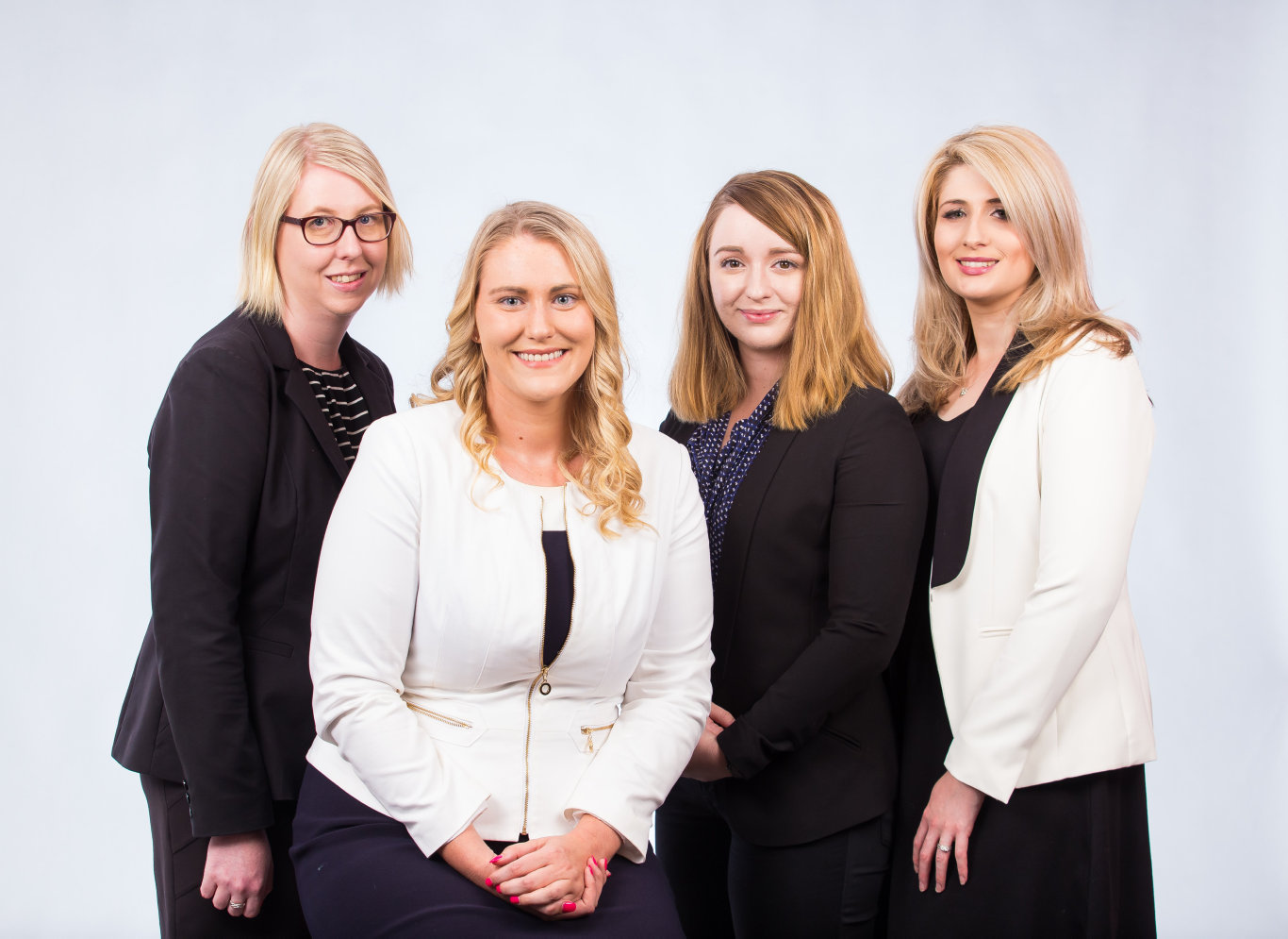 HIGH ACHIEVERS: The Downs and South Western District Law Association leadership team are (from left) Naomi Cox, Sarah-Jane MacDonald, Amie Amish-Wills and Georgia Stafford.