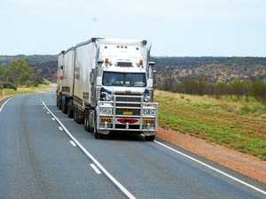 Truckies caught in a dangerous shortcut
