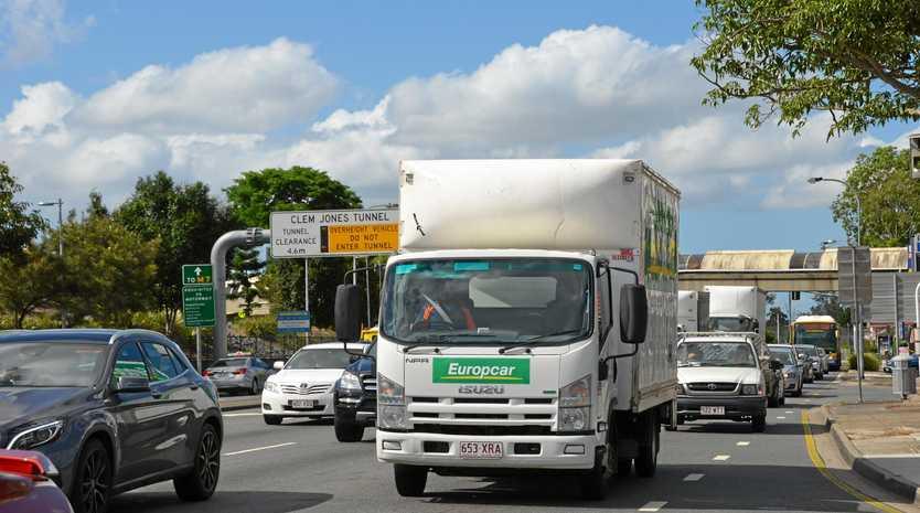 Truck generic, Queensland,