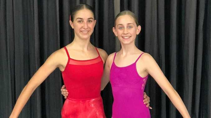 Beverley Prange Dance Centre dancers Keeley Tzoutzias and Emily Way both attended workshops in Sydney from a Central Queensland Performing Arts Foundation youth bursary.