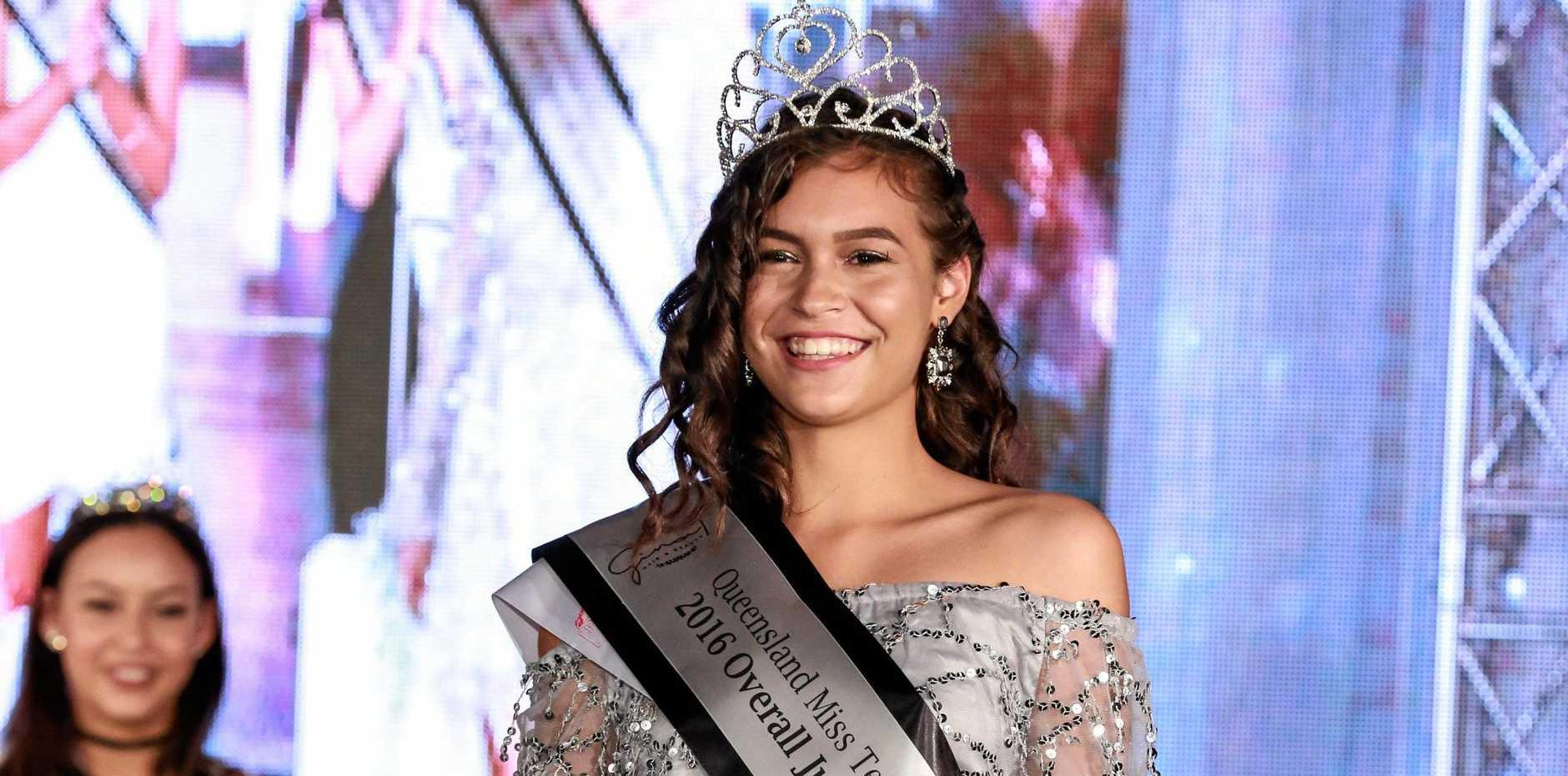 PAGET WINNER: Brooke Mackrill from Moranbah.