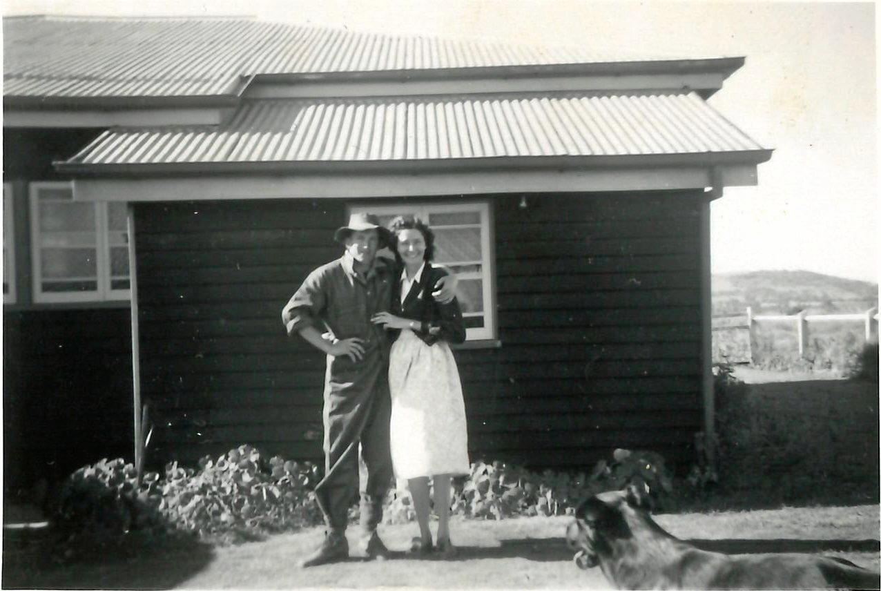 FARM LIFE: Marion looked after the finances while Mick created a sustainable life on the farm.