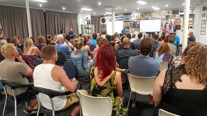 EDUCATE: More than 100 people attended a climate briefing held in the Whitsundays last week.
