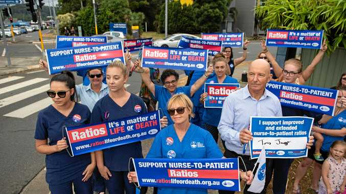 Nurses make a political stand for their patients