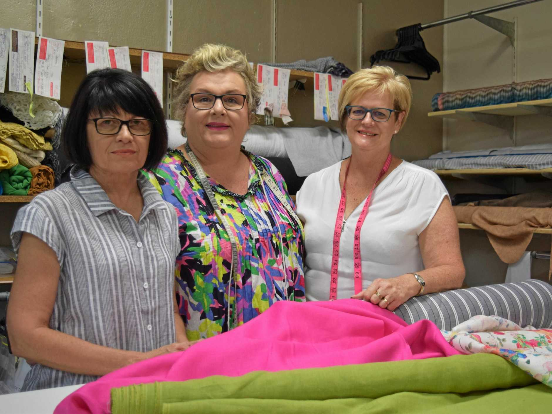 Tess Berghofer, Sue Hargreaves and Carole Cronin say the future of retail in Bundaberg is