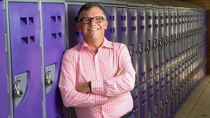 ELEMENT: West Moreton Anglican College head of senior school Paul Alcorn.