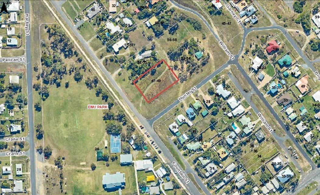 The location of a new child care centre in Emu Park.