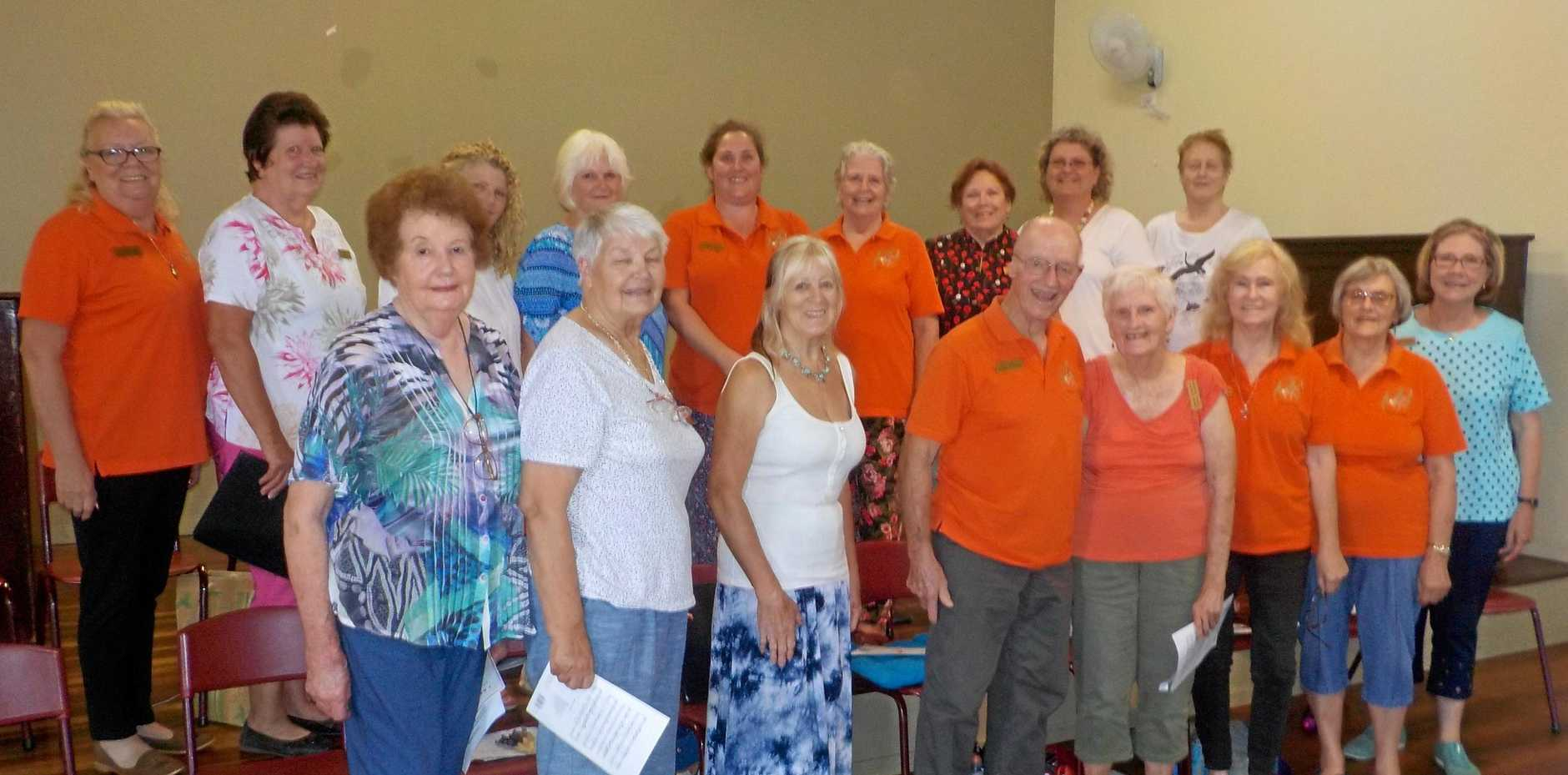 JOIN IN: Blackbutt Singers are calling for new members to join them this year.