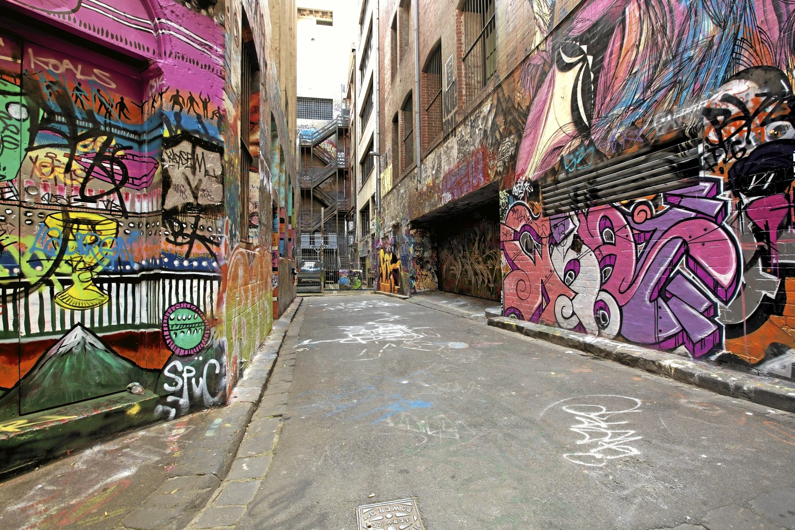 Funky melbourne inspired lane slated for ipswich city graffiti