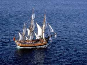 Endeavour replica to visit Gladstone, 1770 during voyage