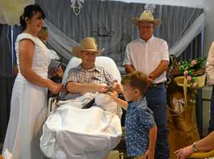 Day to remember: Dying man marries soulmate on birthday