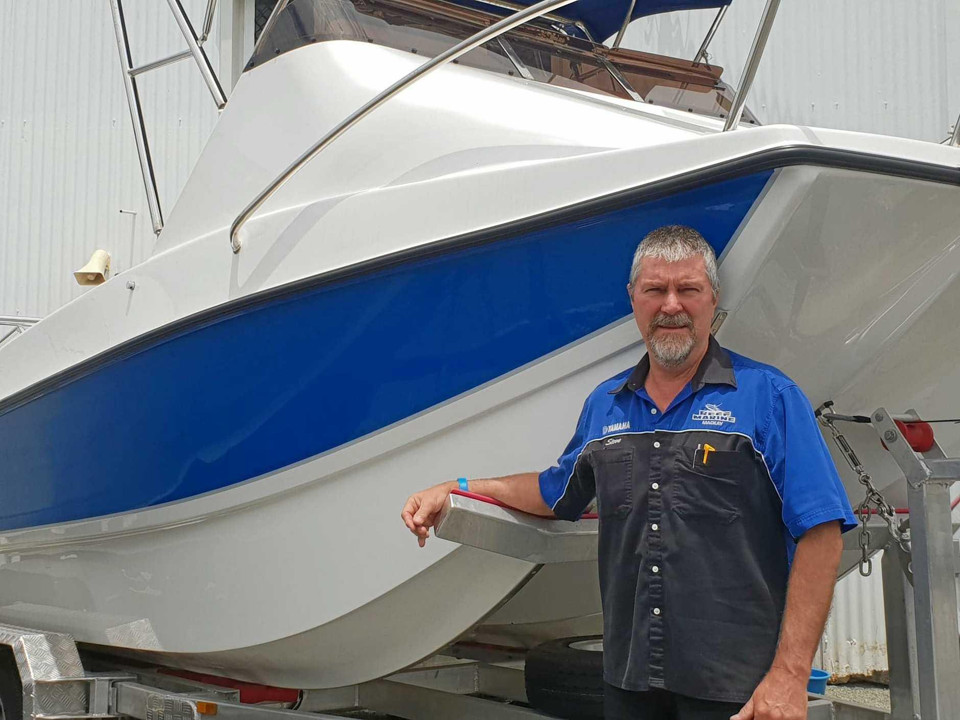 MILESTONE YEAR: Steve Wicks, of Reef Marine, celebrated 40 years in the industry this year.
