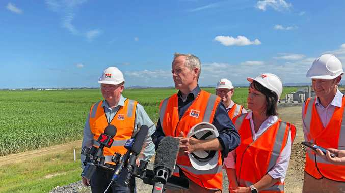 Shorten throws support behind mining industry