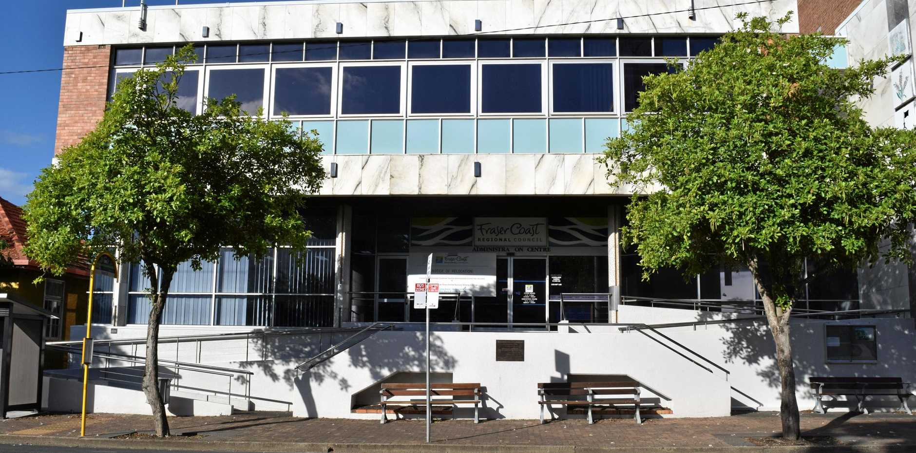 KNOCKING IT DOWN: The council's old administration building in Maryborough will be demolished and a new one built in town after a council vote at their January meeting.