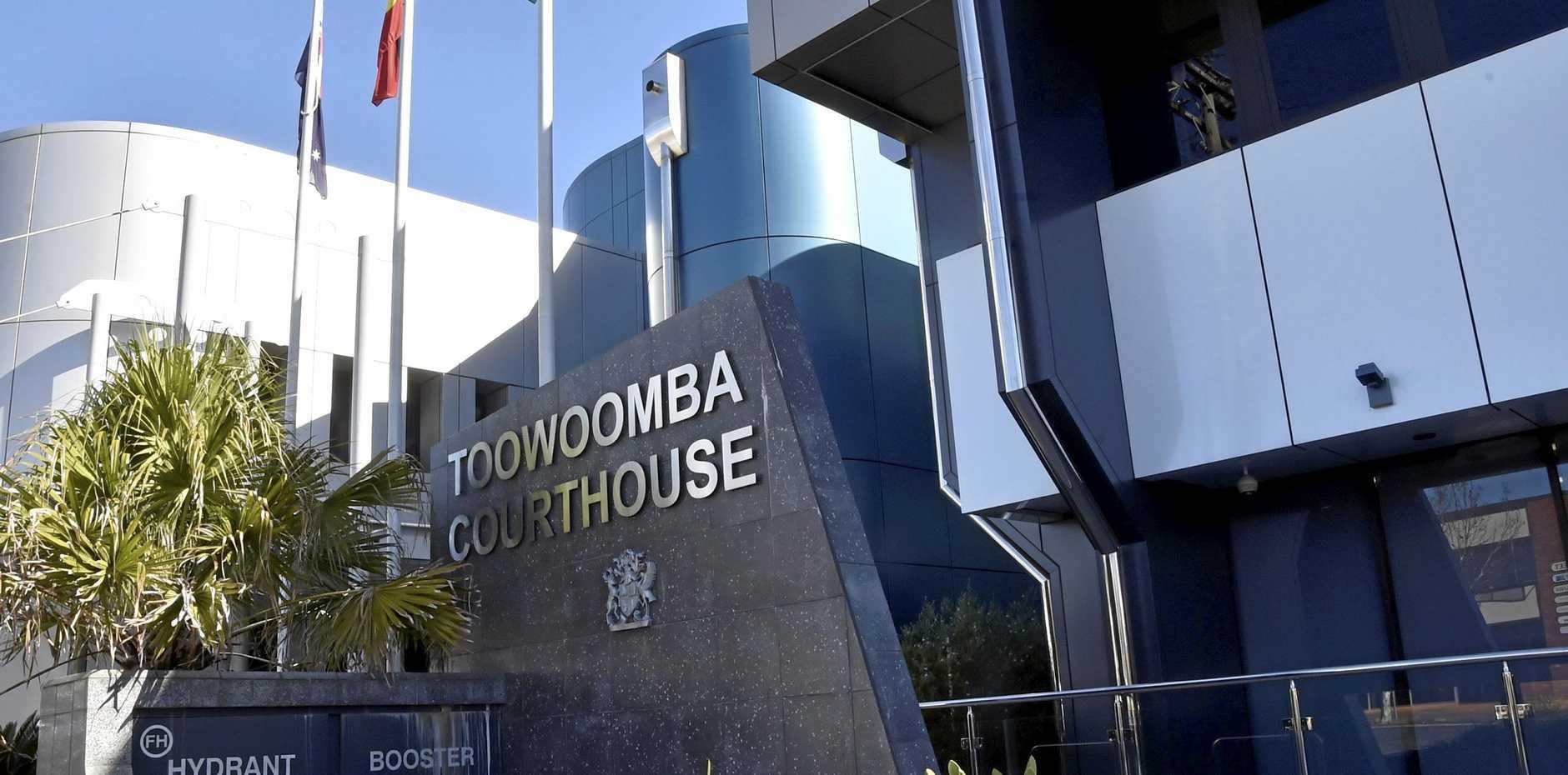 Toowoomba courthouse. Police Station . July 2018