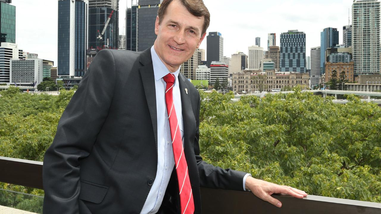 "Brisbane Lord Mayor Graham Quirk says the plan is an ""important step towards protecting quality of life"". Picture: Richard Waugh/AAP"