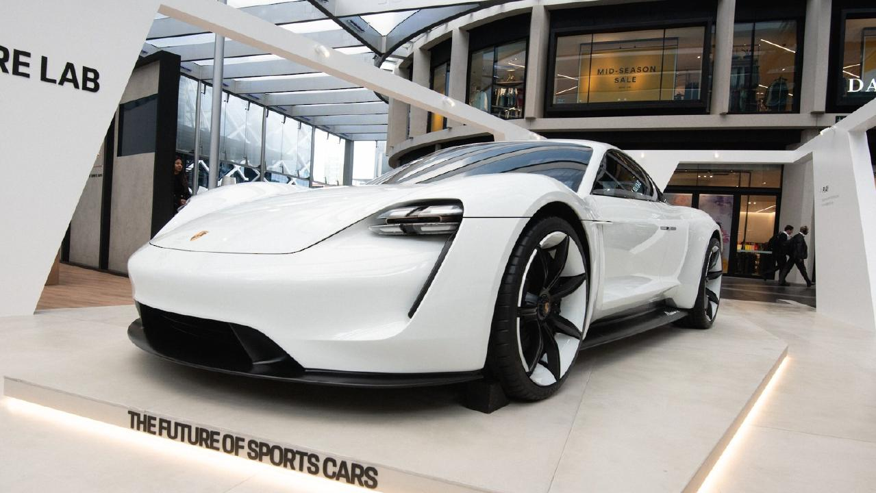 Porsche Mission E concept: The brand's first electric vehicle when it goes on sale in 2020 as the Porsche Taycan.