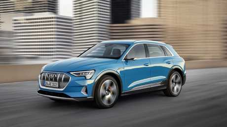 Audi e-tron: the electric SUV is due this year