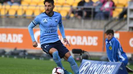 Milos Ninkovic's return was much needed. (AAP Image/SNPA, Ross Setford)
