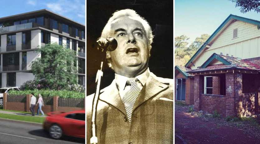 The home Gough Whitlam's parents built in 1921 is under threat of being demolished.