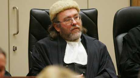 Brisbane District Court Judge Ian Dearden.