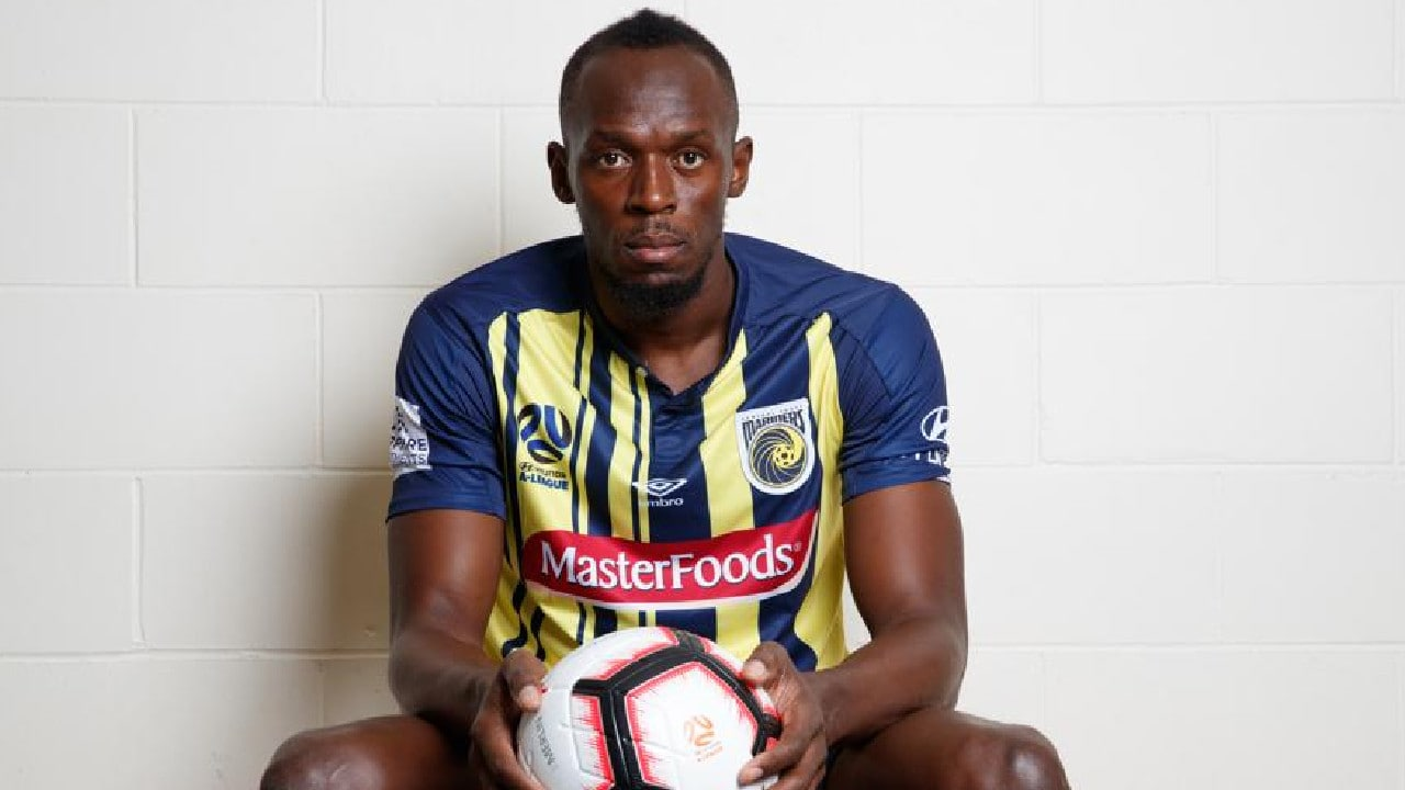 Usain Bolt has given up on his pro football dream